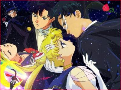 Sailor Moon & Tuxedo Kamen