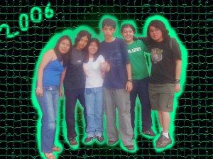 Miki, Jezreel, Camila, Ismael, MANU e eu